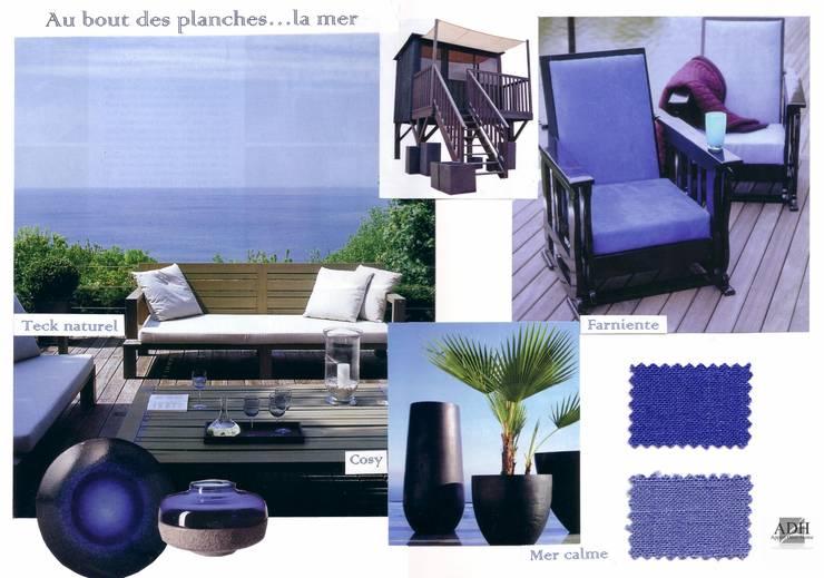 Bord de mer: Jardin de style  par APPART-DECOHOME