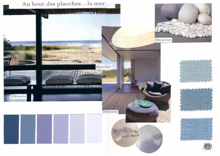Bord de mer : Jardin de style  par APPART-DECOHOME