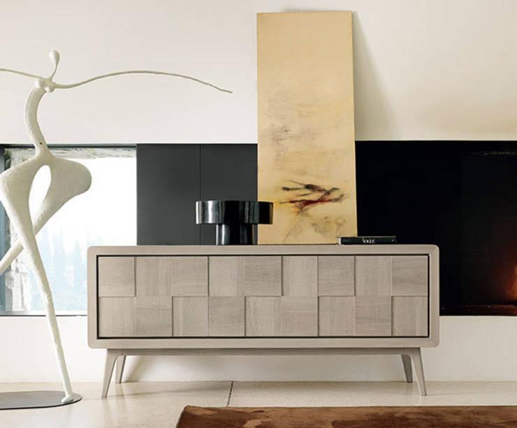 Zanebono Sideboard: moderne Wohnzimmer von KwiK Designmöbel GmbH