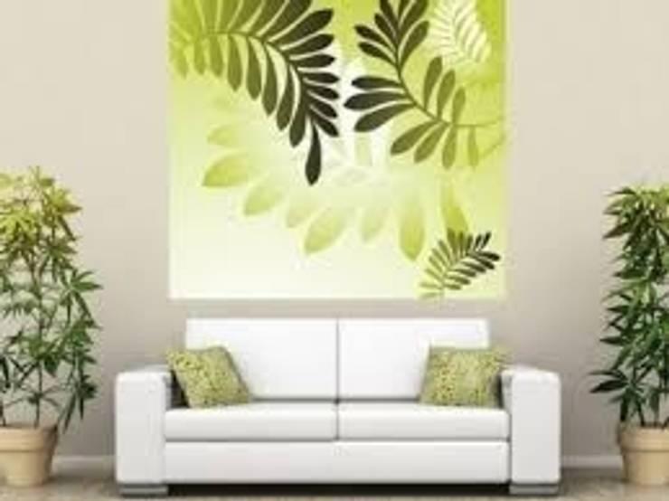 Interior decoration with contemporary modern art:  Artwork by SHEEVIA  INTERIOR CONCEPTS
