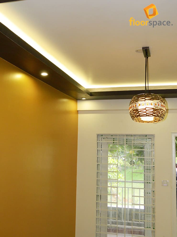 Project Signature - Ceiling Aura:  Dining room by Floorspace