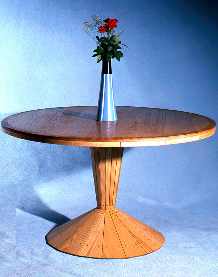 Ash dining table:   by David Arnold Design