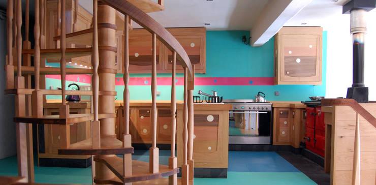 Oak Kitchen:   by David Arnold Design