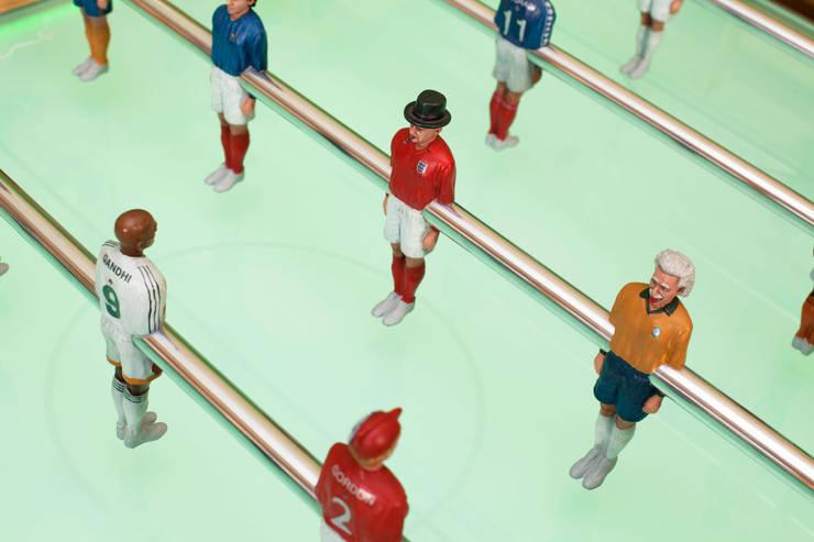 Table Football:   by dawn