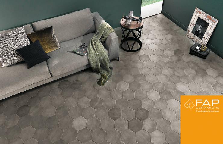 Firenze, tile lovers: Pareti & Pavimenti in stile  di Fap Ceramiche