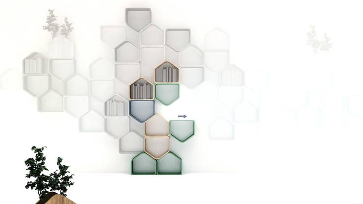 Escritório e loja  por Icaras 3D