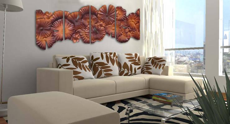 Aplicación Mural Monet: Arte de estilo  por Murales Artisticos Decorativos