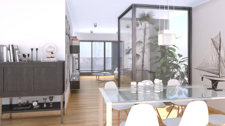Salón 3D:  de estilo  de Icaras 3D