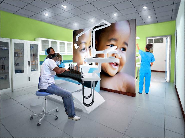 Módulo odontológico 3D:  de estilo  de Icaras 3D