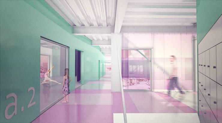 Imagen 3D aulas de danza:  de estilo  de Icaras 3D