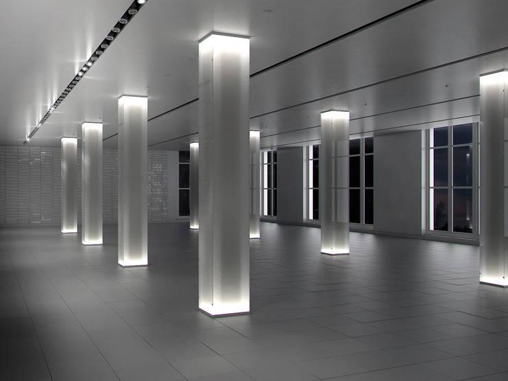 Espacio 3D para oficinas:  de estilo  de Icaras 3D