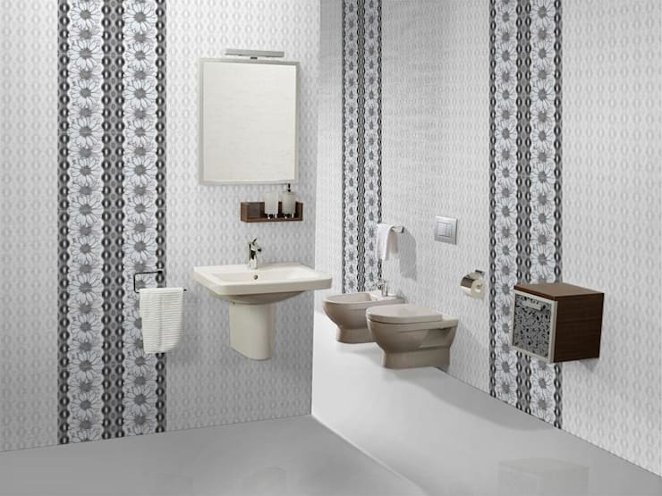 Digital Wall Tiles from India:  Walls & flooring by TILES CARREAUX
