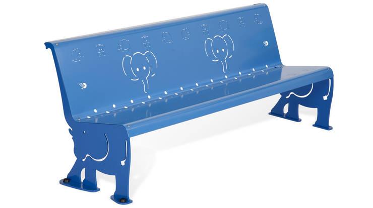 Panchina Dumbo: Giardino in stile  di Dimcar s.r.l.,