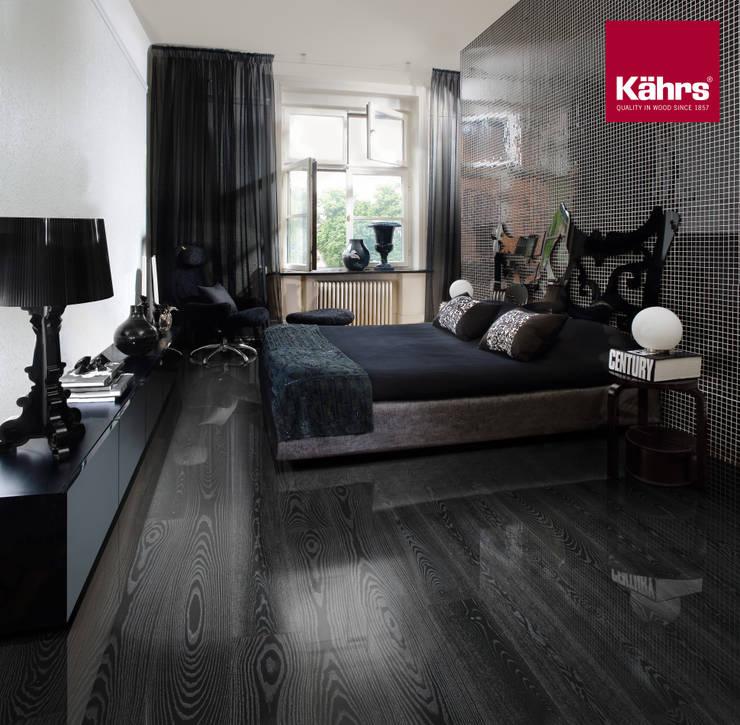 Recámaras de estilo ecléctico por Kährs Parkett Deutschland