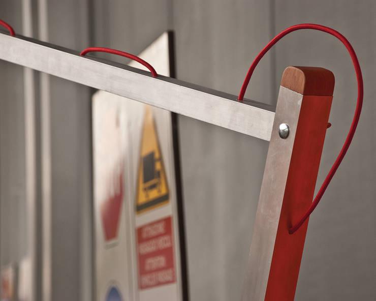 Mantide:  in stile industriale di Studio Lievito, Industrial