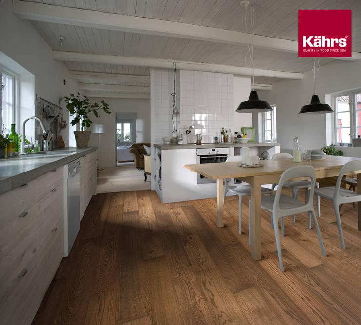 Dining room by Kährs Parkett Deutschland