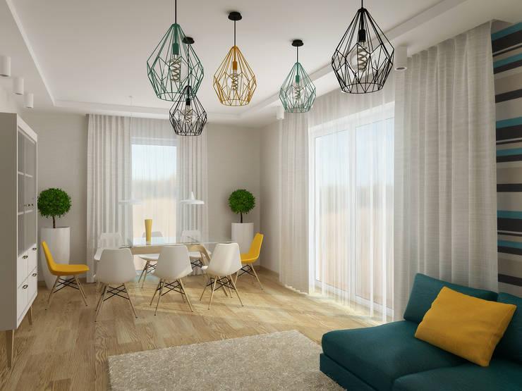 Salas de estar modernas por NK-Line I Natascha Kuzmenko I Modernes Interior Design