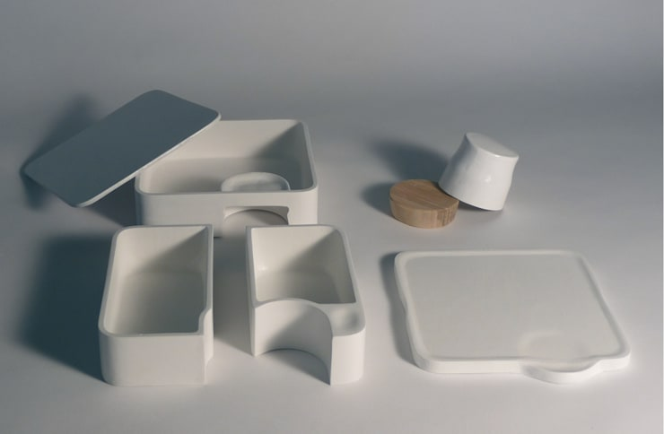 [Re]lait - Le design au service du lait cru: Cuisine de style  par L'Accent du m
