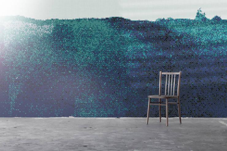 Zima 6: styl , w kategorii Ściany zaprojektowany przez Trufle Mozaiki