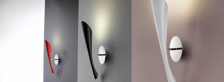 Lámpara POP: Salones de estilo  de Santiago Sevillano Industrial Design