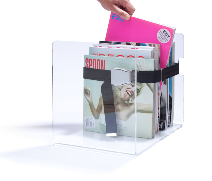 bendix magazine rack:  Wohnzimmer von toshi Berlin,