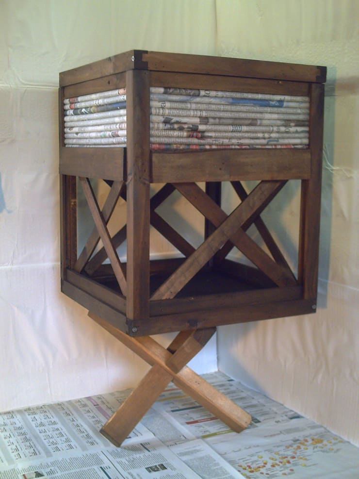 cubo X: Casa in stile  di Avanzi Lello