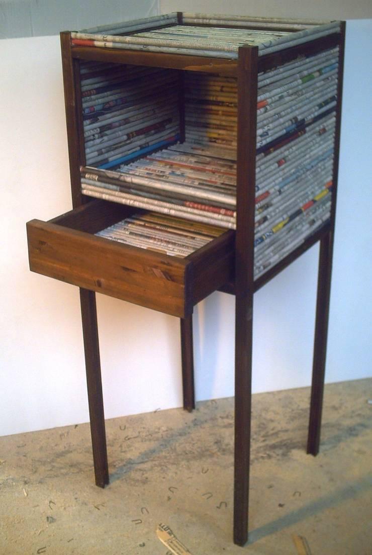 cubo cassetto:  in stile  di Avanzi Lello, Rustico