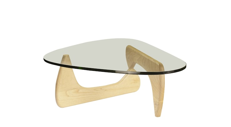 Noguchi coffee table by Vitra:  Living room by Urbansuite