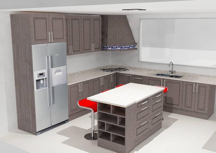 Cocinas y closet:  de estilo  por Softlinedecor