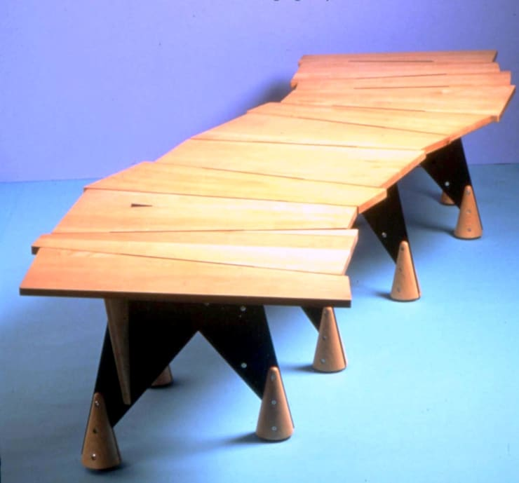 Boardwalk Table:  Office spaces & stores  by David Arnold Design