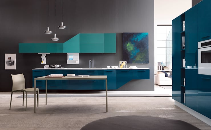 Alicante - ​Fashion & Design: Cucina in stile in stile Moderno di Matteo Beraldi Design Office