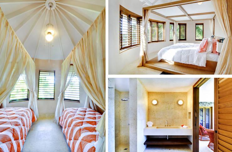 camere e bagno: Case in stile in stile Tropicale di ANG42