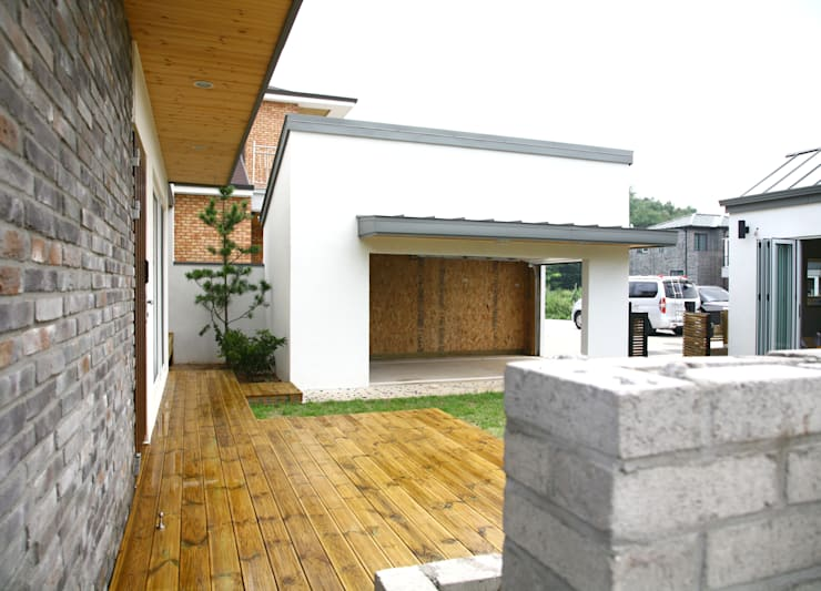 Дома в . Автор – 삼간일목 (Samganilmok)