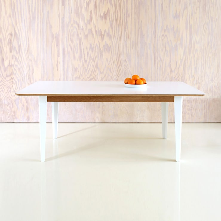 Tree Table: modern Dining room by Deadgood Trading Ltd