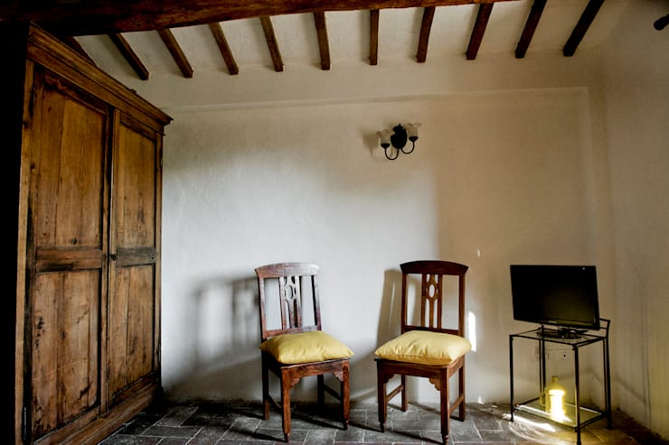 Archenjoy - Studio di Architettura - : rustik tarz tarz Oturma Odası