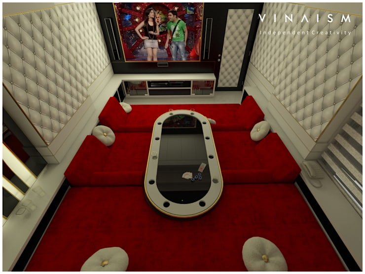 white home theater:   by V I N A I S M
