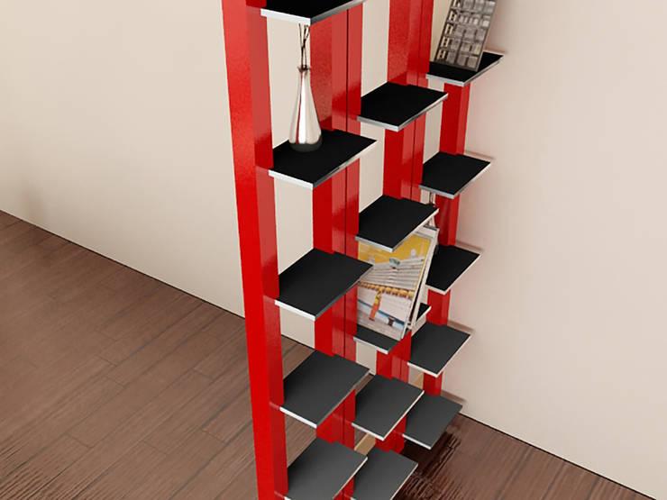 Libreria Complex: Casa in stile  di Luca Mariotti ,