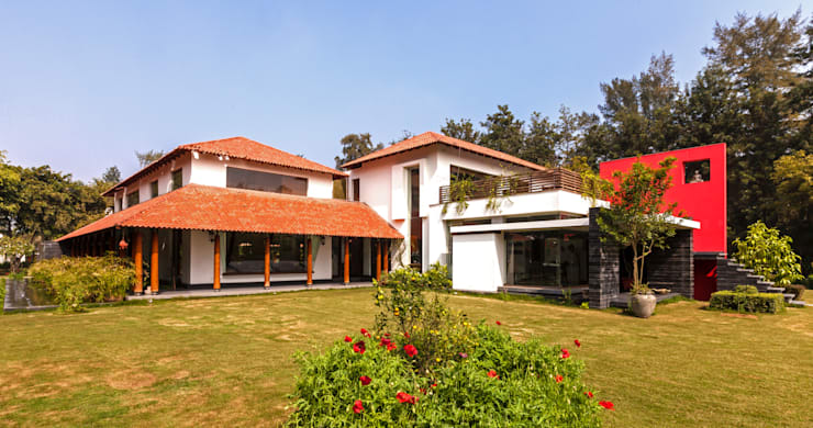Casas de estilo  por Kumar Moorthy & Associates