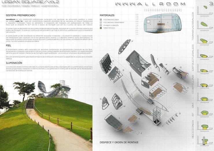 WWWALLROOM: Hoteles de estilo  de BIM6D Consulting & Performance