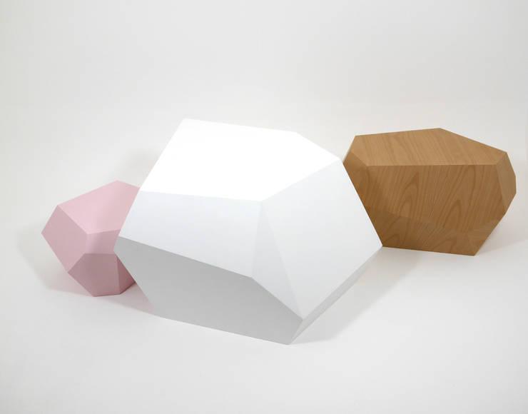 Projekty,  Salon zaprojektowane przez BÜROALLEMAND