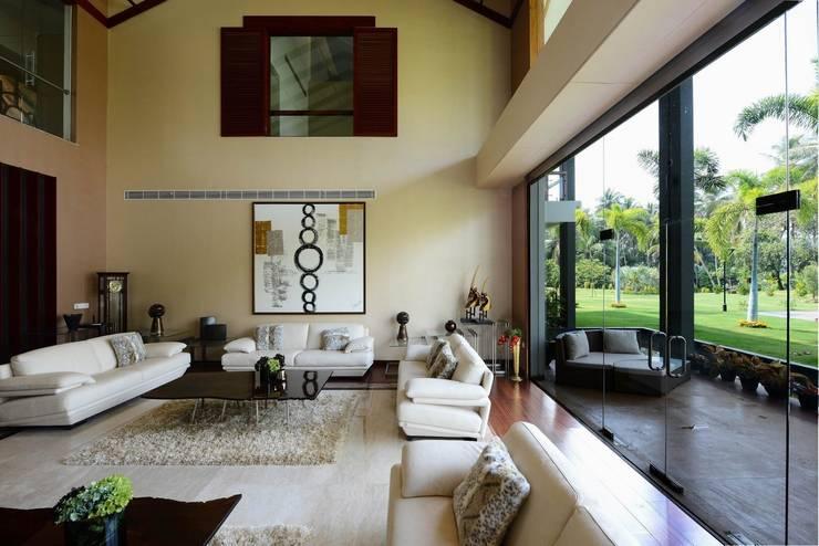 Wohnzimmer von TOPOS+PARTNERS