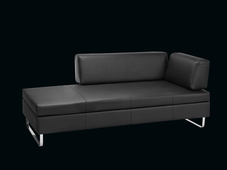 BED for LIVING Doppio: modern  von Swiss Plus AG,Modern