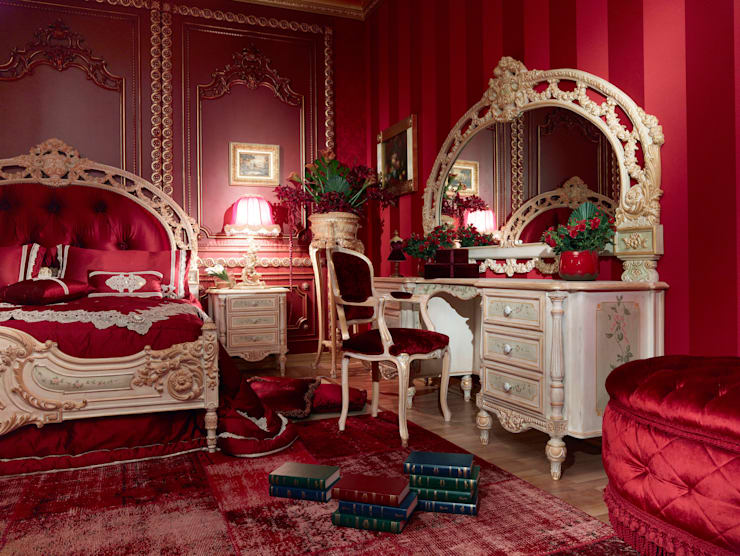 classic Bedroom by Asnaghi Interiors