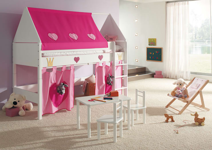 年齢別女の子の部屋の作り方