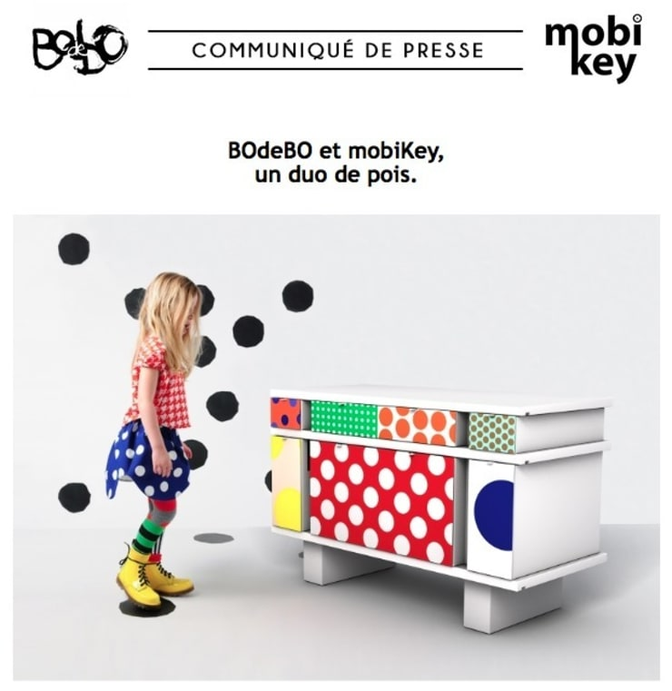 bureau enfant bodebo:  de style  par bodebo