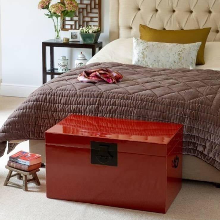 Dormitorios de estilo asiático por Orchid