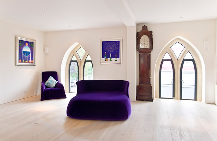 Salas de estar modernas por London Residential AV Solutions Ltd