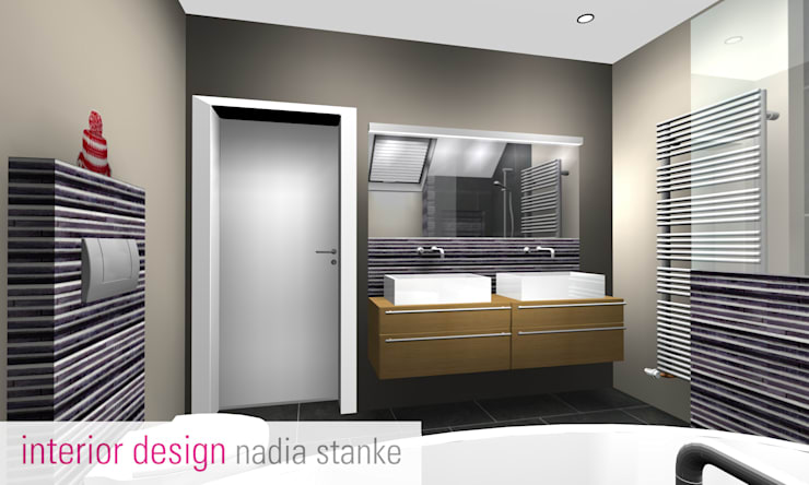 Badezimmer:  Badezimmer von stanke interiordesign,