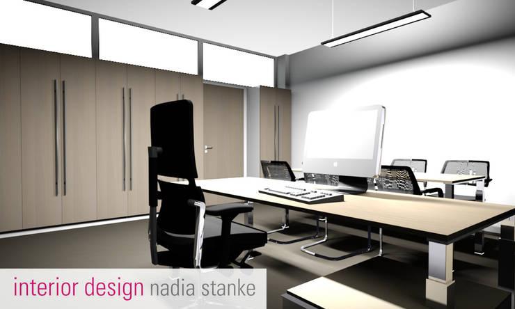 Büroräume:  Bürogebäude von stanke interiordesign,