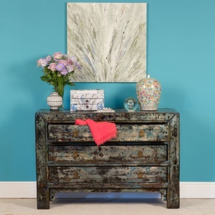 Three Drawer Chest c.1950 Shanxi Province:  Living room by Orchid